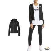 Puma Rebel 女款 黑色 連帽外套 棉質 基本系列 運動 休閒 外套 58690901