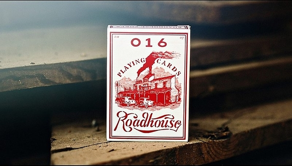 【USPCC撲克】ROADHOUSE RED PLAYING CARDS