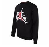NIKE服飾系列-JUMPMAN CLASSICS CREW 男款黑色長袖上衣-NO.BV6007010