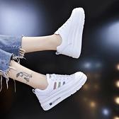 增高鞋 2021新款鬆糕厚底小白鞋女鞋百搭內增高休閒潮鞋透氣春季板鞋子夏 夏季狂歡