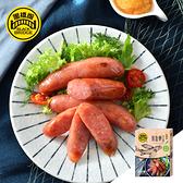 【黑橋牌】360g 飛魚卵香腸 - 清香芥末