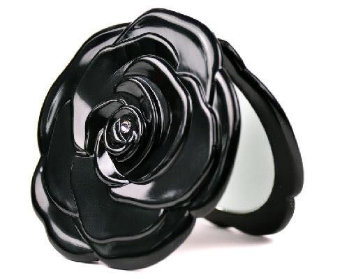玫瑰折鏡|化妝鏡 梳妝鏡 手拿鏡 美妝折鏡【mocodo 魔法豆】