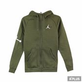 NIKE 男 AS JUMPMAN AIR FLEECE FZ  棉質--運動外套(連帽)- AH6241396