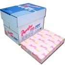 【奇奇文具】PAPER LINE 140 / 70P / A4 玫瑰紅 影印紙(每箱5包)