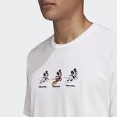 【母親節跨店折後$1880】Adidas X DISNEY 米奇 短T 迪士尼 米老鼠 短袖 上衣 男款 白 GL2224