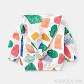 嬰兒純棉防曬衣服男女童空調衫夏裝兒童寶寶1歲2小童3薄外套Y3494 創意家居生活館