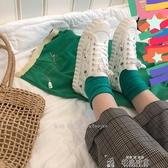 油桃君田園系蘿蔔頭小清新帆布鞋女學生手繪板鞋韓版chic小白鞋 新年禮物