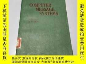 二手書博民逛書店COMPUTER罕見MESSAGE SYSTEMS(計算機信息系