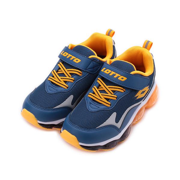 LOTTO FLOAT 全氣墊跑鞋 深藍 LT0AKR2216 中大童鞋 鞋全家福