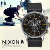 【人文行旅】NIXON | A405-2222 THE SENTRY CHRONO 軍事風格