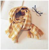 兒童圍巾韓版格子中大童冬季保暖圍脖男女童小孩嬰兒寶寶圍巾
