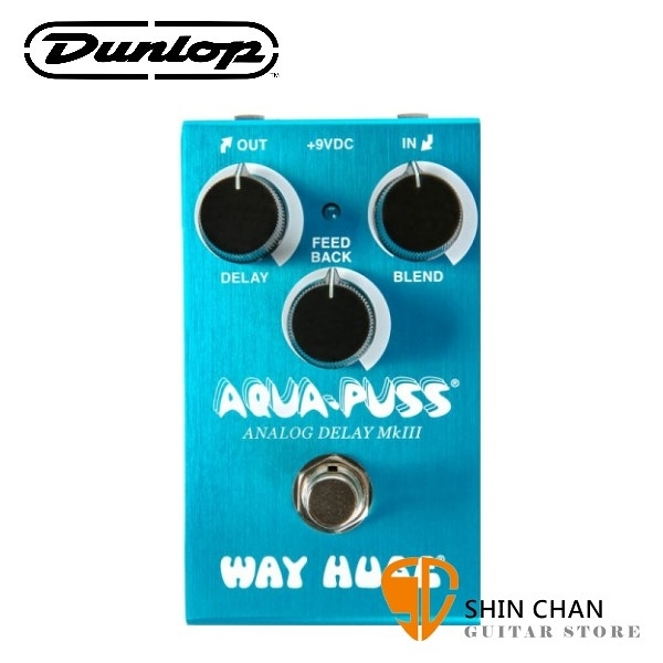 Dunlop WM71 迷你延遲效果器【Aqua-Puss/Analog Delay MkIII/Way Huge】