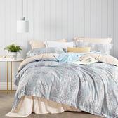 艾倫 天絲TENCEL 採用3M吸溼排汗專利-加大鋪棉兩用被床包組