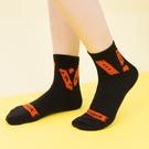 電電糖膠帶短筒棉襪(黑色)