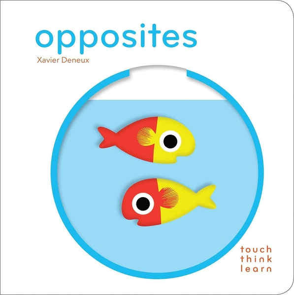 Touch Think Learn:Opposites 比比看 厚紙硬頁認知書