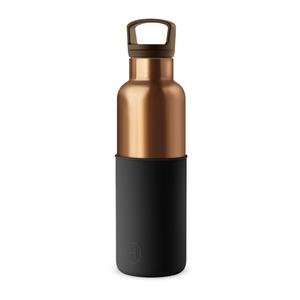 【HYDY】時尚保溫瓶 午夜黑-古銅金 (590ml)
