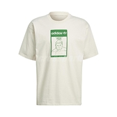 adidas 短袖T恤 Original Tee Hulk 米白 綠 男女款 短T 浩克 Marvel 運動休閒 【ACS】 GP3398