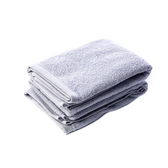 HOLA 土耳其純棉毛巾2入(雲灰)40x80cm