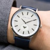EMPORIO ARMANI 亞曼尼 AR11119 灰白紳士時尚精品錶 熱賣中!