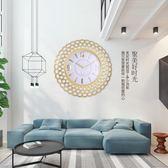 北歐風格鐘錶掛鐘客廳家用臥室簡約現代石英時鐘創意靜音掛錶掛件-享家生活館 IGO