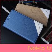 【萌萌噠】諾基亞 Nokia 6 (5.5吋)  正品 歐普瑞斯 磨砂手感 側翻皮套 防震 免翻蓋 自動吸附 手機殼
