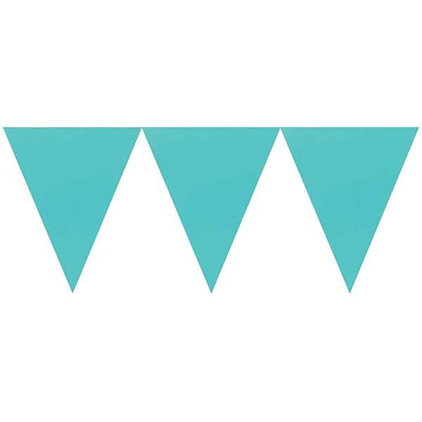 三角旗-蒂芬妮藍