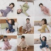 兒童薄長袖套裝睡衣 卡童圖案居家服套裝睡衣