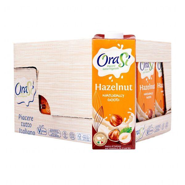 歐瑞仕OraSi-榛果奶 (1L/罐)★愛家嚴選非基改素食 營養植物奶 全素飲料 義大利頂級堅果奶_不含牛乳