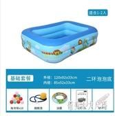 兒童充氣泳池加厚寶寶戲水池嬰兒家庭室內海洋泳池 JH1239『俏美人大尺碼』