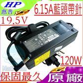 HP 19.5V,6.15A 變壓器(原廠)-惠普 -120W ENVY 15-j000,CTO,15-j000eb,15-j000er,15-j000sg,15-j001er,15-j001sb