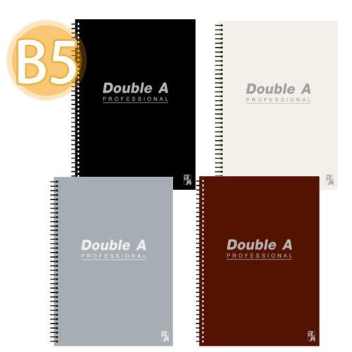 【奇奇文具】Double A 灰 B5/18K線圈筆記本DANB12174
