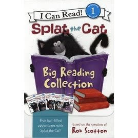 SPLAT THE CAT: BIG READING COLLECTION /盒裝內含5書