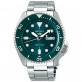 SEIKO 5 Sports 精工 綠水鬼機械錶 SRPD61K1 (4R36-07G0M)