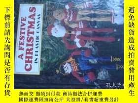 二手書博民逛書店A罕見FESTIVE CHRISTMAS IN PLASTIC