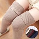 過膝襪 日系高筒夏季空調房護腿襪套過膝襪腳套女長筒襪子睡眠保暖襪