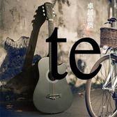 吉它吉他38寸吉他民謠吉他木吉他初學者入門級練習吉它學生男女樂器XW(免運)