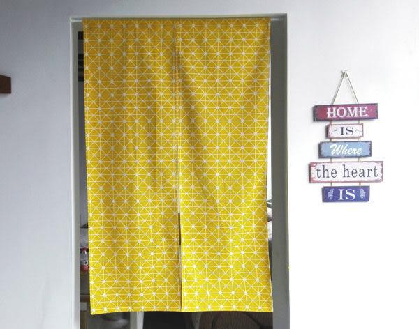 可愛時尚棉麻門簾122 廚房半簾 咖啡簾 窗幔簾 穿杆簾 風水簾 (80cm寬*180cm高)