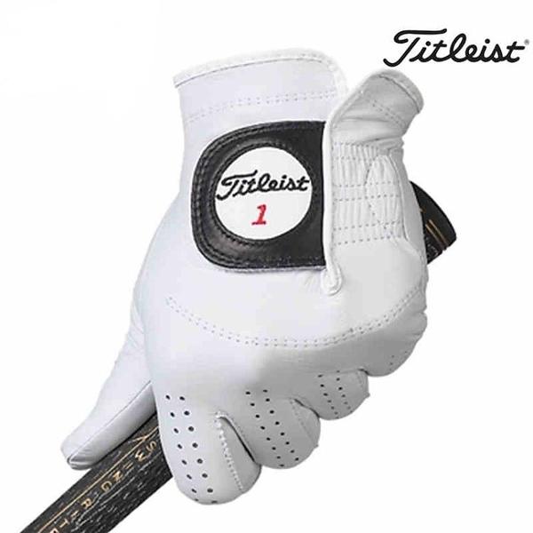 Titleist Players高爾夫手套小羊皮手套男士真皮手套舒適新款