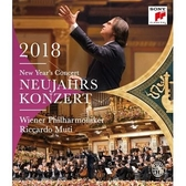 2018維也納新年音樂會 黎卡多慕提 & 維也納愛樂 BD 免運 (購潮8)