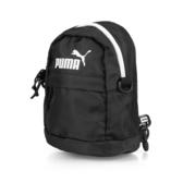 Puma 黑 白logo 後背 小包包 基本款 (布魯克林) 07615404