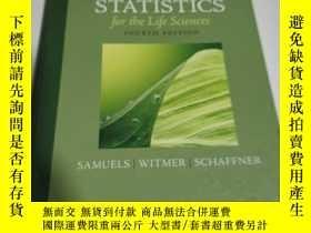 二手書博民逛書店STATISTICS罕見for the Life science