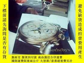 二手書博民逛書店紐約蘇富比2013秋季拍賣會罕見Important watche