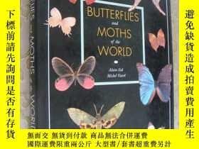 二手書博民逛書店Butterflies罕見and moths of the wo