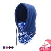 走走去旅行99750【IB290】防風CS面罩 抓絨帽 冬騎行防風保暖頭套 蒙面脖套 圍脖 4色
