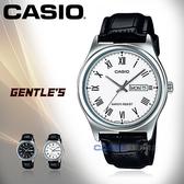 CASIO 卡西歐 手錶專賣店 MTP-V006L-7B 男錶 指針錶 皮革錶帶 防水 日和日期顯示