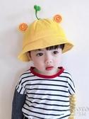 嬰兒寶寶帽子太陽夏季薄款兒童遮陽防曬男童女童涼帽漁夫帽春秋冬 京都3C