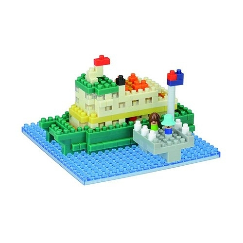《 Nano Block迷你積木 》NBH-163 雪梨渡船 ╭★ JOYBUS玩具百貨