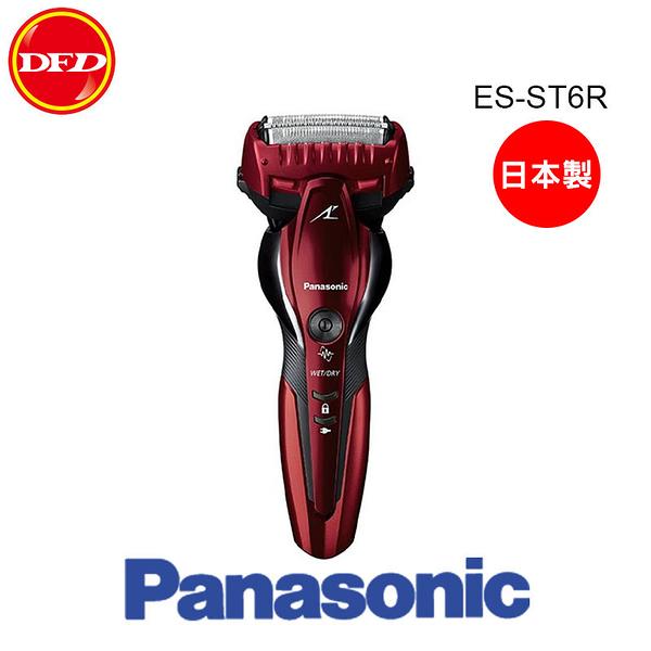 Panasonic 國際牌 日本製 超跑3枚刃水洗電鬍刀 ES-ST6R 公司貨