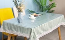 桌墊 透明桌墊pvc軟玻璃隔熱塑料桌布防水防油免洗水晶板防燙茶幾餐墊【快速出貨八折搶購】
