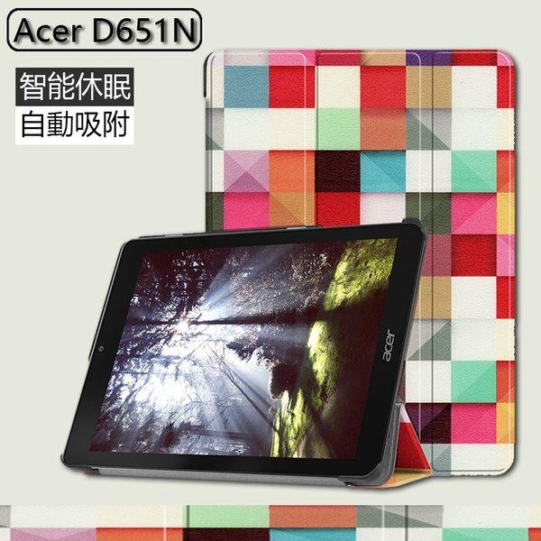 彩繪三折皮套 宏碁 Acer Chromebook Tab 10 (D651) 平板套 卡斯特 保護套 保護套 三折支架 皮套 卡通